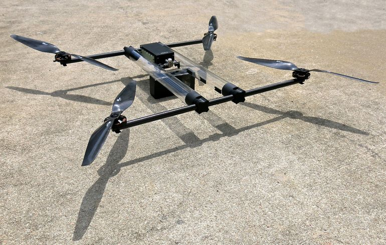 hycopter drone a idrogeno