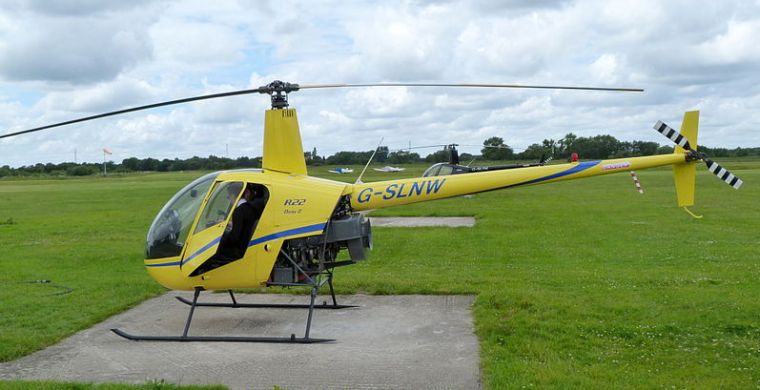 Robinson R22 helicopter